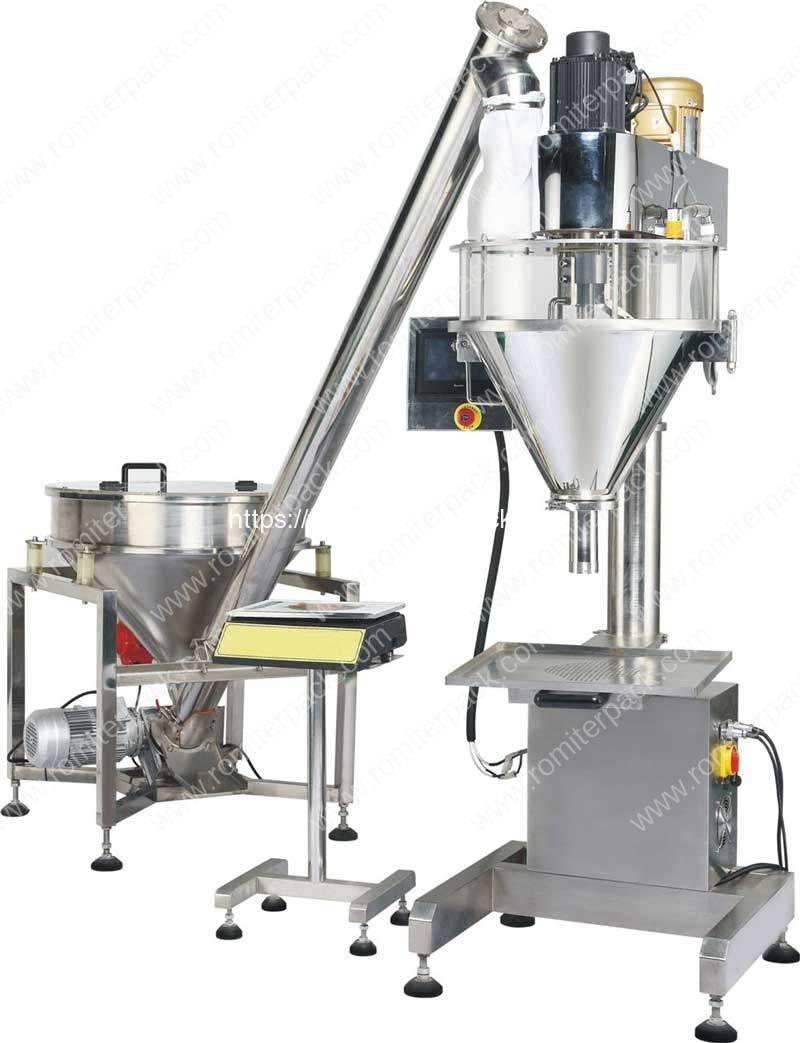 Auger Filler Type Powder Filling Machine